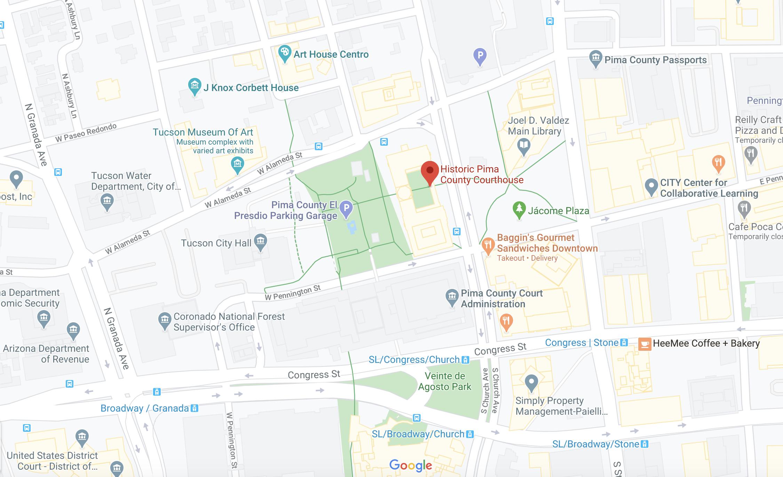 Museum Google Map Image