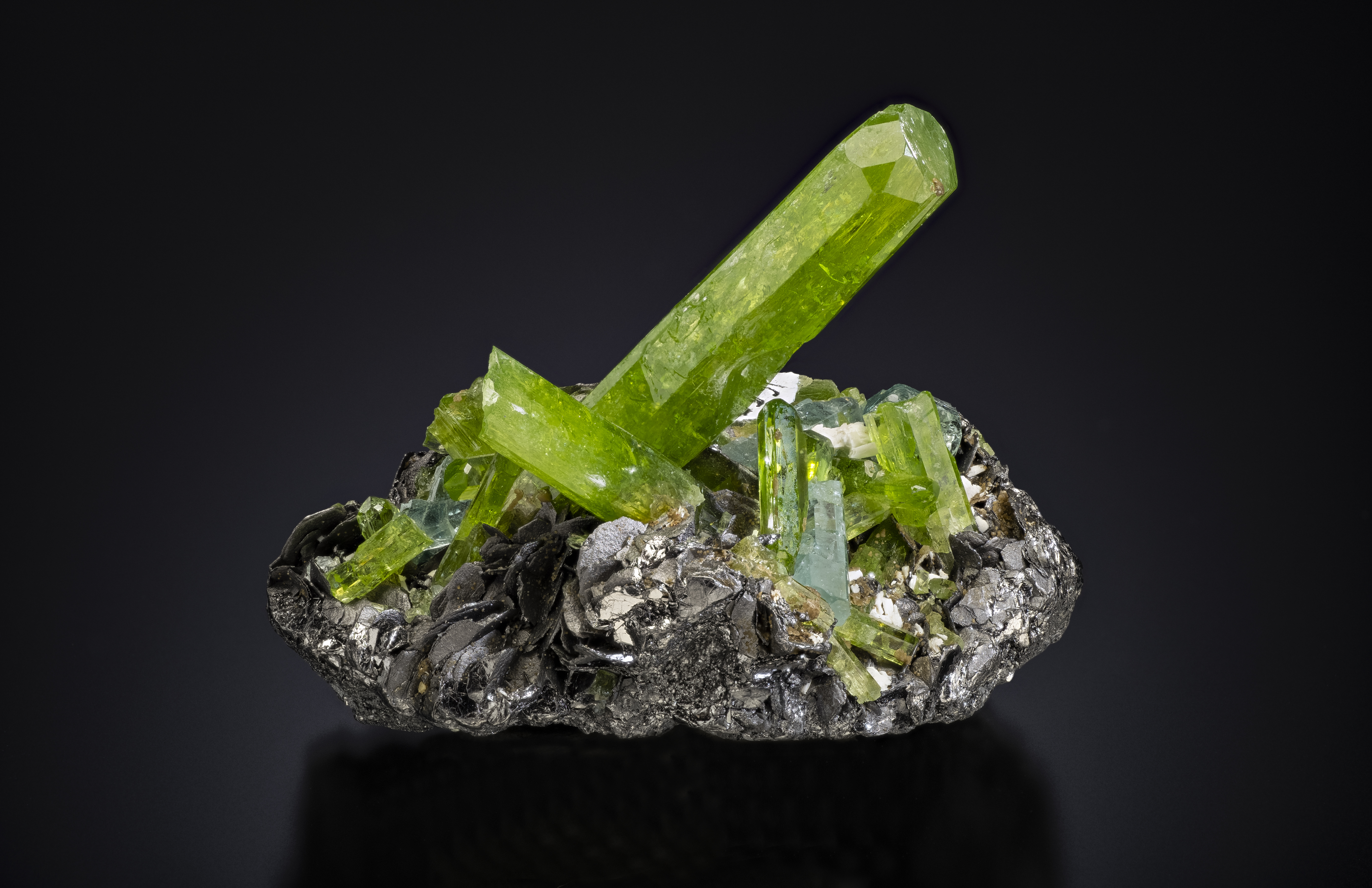 Diopside Mineral from UAGMM Collection