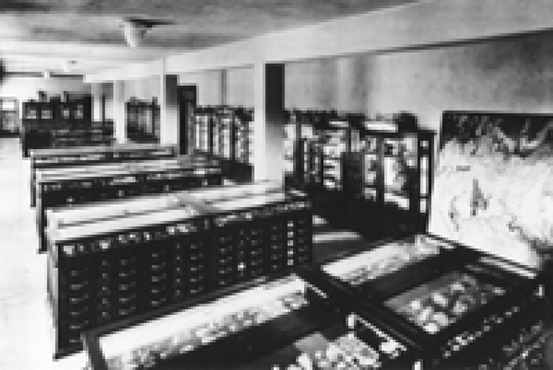 Mineral Museum Collection 1918